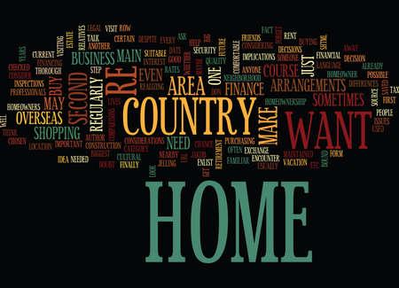 海外ホーム テキスト背景単語の概念は雲あなたの自宅