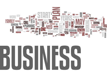 ASK DON T TELL LEADERSHIP WHEN TO START YOUR OWN BUSINESS Text Background Word Cloud Concept