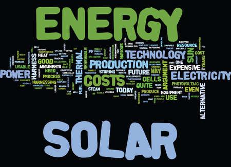 ARGUMENTOS CONTRA LA ENERGÍA SOLAR Texto Fondo Palabra Nube Concepto Foto de archivo - 82568348