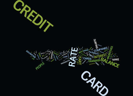 ARE YOU A CREDIT CARD TART Text Background Word Cloud Concept Ilustrace
