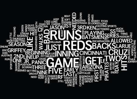ARIZONA D BACKS VS CINCINNATI REDS Text Background Word Cloud Concept