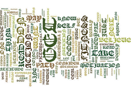 ATTITUDE THE FORGOTTEN POWER Text Background Word Cloud Concept