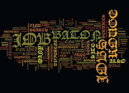 BATON ROUGE MOVIE THEATERS Text Background Word Cloud Concept Vettoriali