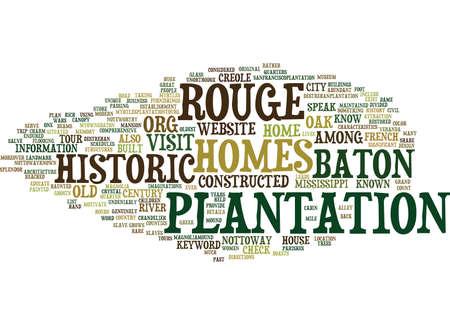 Baton Rouge Häuser für Verkauf Text Hintergrund Wort Cloud-Konzept