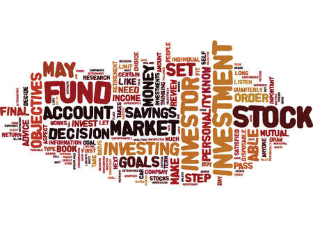 ARE YOU A STOCK INVESTOR Text Background Word Cloud Concept