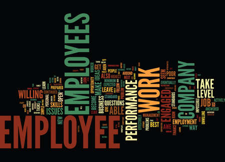 ARE YOU IN AWE OF YOUR EMPLOYEES Text Background Word Cloud Concept