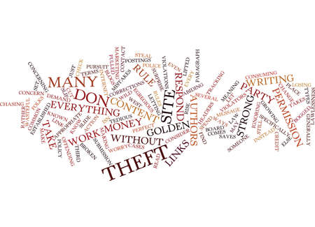 ARTICLE THEFTWHAT TO DO ABOUT IT Text Background Word Cloud Concept