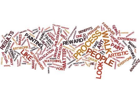ART IS FOR EVERYONE Text Background Word Cloud Concept