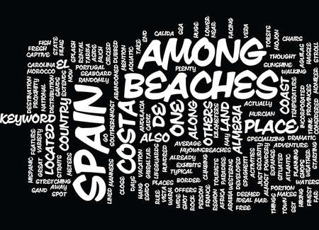 BEACHES OF BERMUDA Text background in word cloud concept