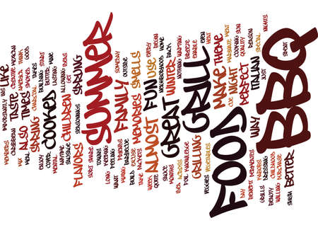 BBQ FROM THE CAROLINAS Text Background Word Cloud Concept