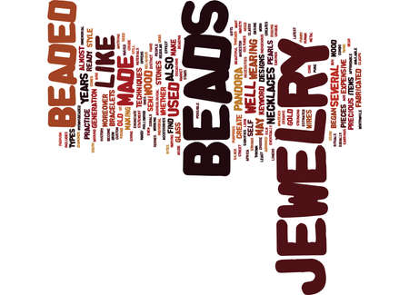 BEADED LANYARDS FOR THE OFFICE Text Background Word Cloud Concept