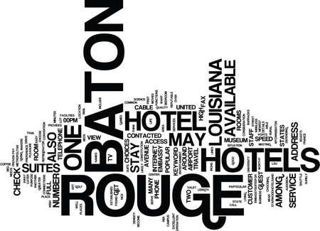 baton rouge: BATON ROUGE JOBS Text Background Word Cloud Concept Illustration