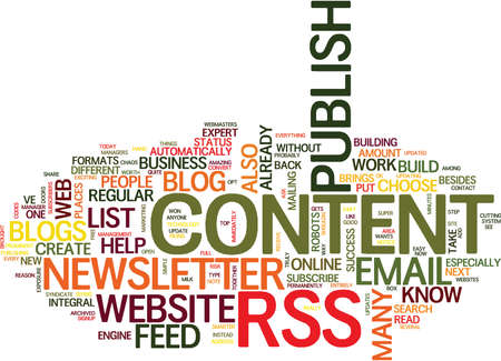 ve: ARE YOU AT RISK OF WEB CONTENT CHAOS Text Background Word Cloud Concept Illustration