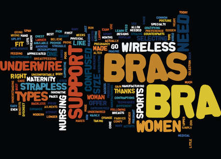 ARE YOU CONFUSED ABOUT WHAT BRA YOU NEED Text Background Word Cloud Concept