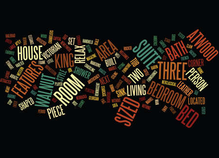 ATWOOD HOUSE Text Background Word Cloud Concept Illustration