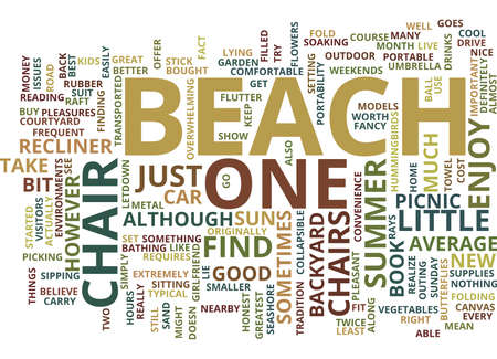 BEACH FLORIDA INCLUSIVE RESORT Text Background Word Cloud Concept Illustration