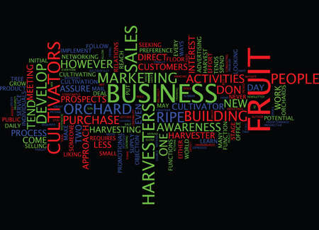 julie: ARE YOU A CULTIVATOR OR A HARVESTER Text Background word cloud concept Illustration