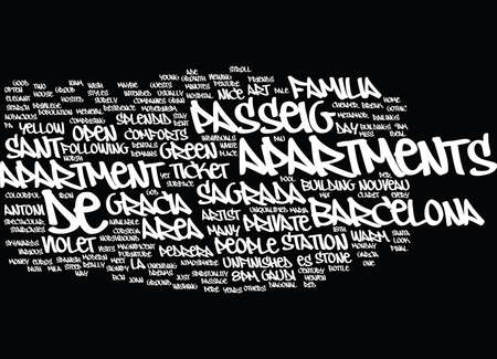 BARCELONA EURO GAMES Text Background word cloud concept