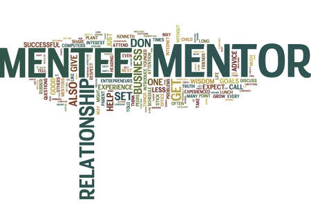 ARE YOU MENTOR MATERIAL Text Background Word Cloud Concept