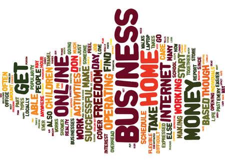 あなた自身のオンライン ビジネス テキスト背景単語クラウドのコンセプトと自由を見つける