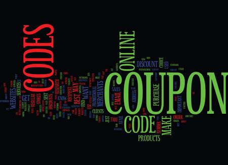 FIGIS COUPON CODES Text Background Word Cloud Concept