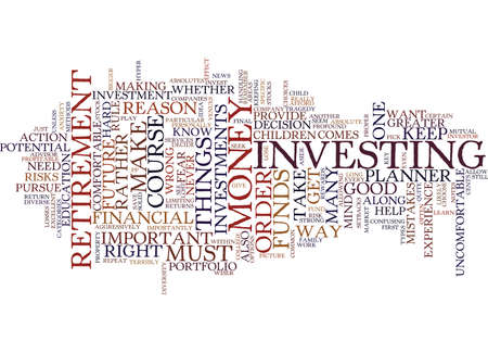 FINAL NOTES FOR FINANCIAL RETIREMENT Text Background Word Cloud Concept 向量圖像