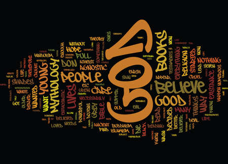 FIRST AN ATHEIST THEN AN AGNOSTIC AND NOW A BELIEVER Text Background Word Cloud Concept