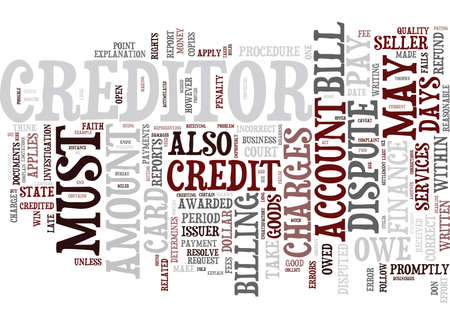 EVER HAVE A PROBLEM WITH YOUR CREDIT CARD COMPANY Text Background Word Cloud Concept Illusztráció