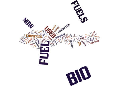 ENERGY WHAT YOU NEED TO KNOW ABOUT BIO FUELS Text Background Word Cloud Concept