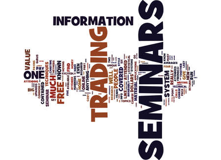 beware: BEWARE OF HIGH COST SEMINARS Text Background Word Cloud Concept