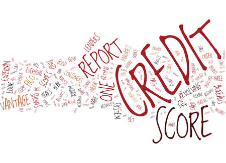 EVEN PEOPLE WITH GOOD CREDIT ARE PENALIZED Text Background Word Cloud Concept