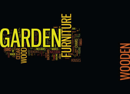 enhances: ENHANCE THE ELEGANCE OF YOUR GARDEN WITH BEAUTIFUL CARPENTRY Text Background Word Cloud Concept Illustration