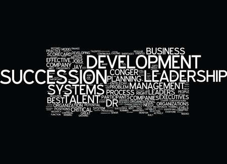 ENTELECHY SPEAKS TO DR JAY CONGER ABOUT LEADERSHIP DEVELOPMENT Text Background Word Cloud Concept