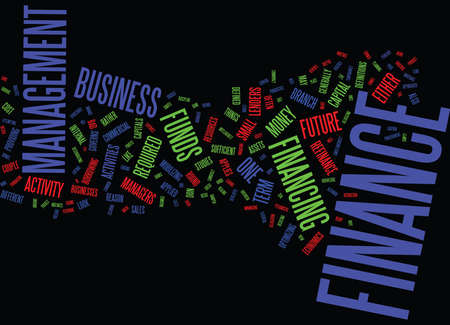 FINANCE GENERAL OVERVIEW Text Background Word Cloud Concept