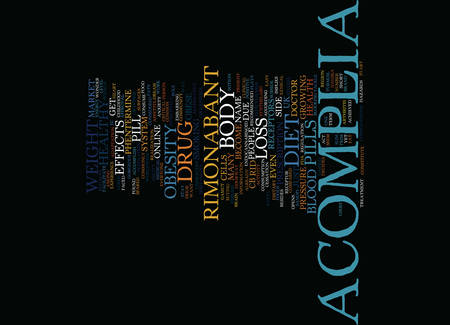 ENTICE A GORGEOUS BODY WITH ACOMPLIA DIET PILL Text Background Word Cloud Concept