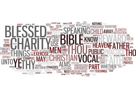 EXAMPLES FROM THE BIBLE TO USE IN YOUR EVERYDAY PRACTICE Text Background Word Cloud Concept