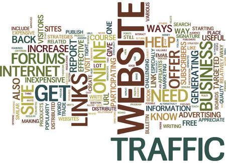 EFFECTIVE WAYS TO MARKET YOUR ONLINE BUSINESS Text Background Word Cloud Concept 向量圖像