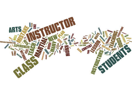 FIVE COMMON MISTAKES THAT NEW KARATE INSTRUCTORS MAKE Text Background Word Cloud Concept Illustration