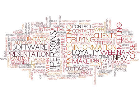 BEST PRACTICES FOR ECRM Text Background Word Cloud Concept
