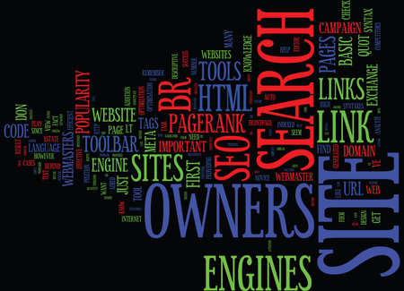 EFFECTIVE SEO TOOLS FOR SITE OWNERS Text Background Word Cloud Concept