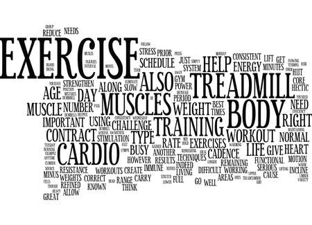 demanding: EXERCISE AS POWER SOURCE Text Background Word Cloud Concept