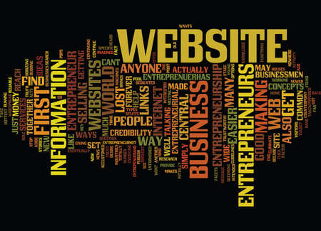 ENTREPRENEUR COM Text Background Word Cloud Concept