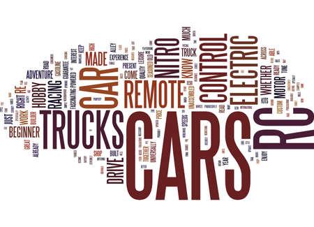 ENJOY THE ADVENTURE DRIVE REMOTE CONTROL CARS Text Background Word Cloud Concept Illusztráció
