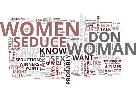 FIND OUT HOW YOU CAN TAKE WOMEN TO YOUR BED Text Background Word Cloud Concept
