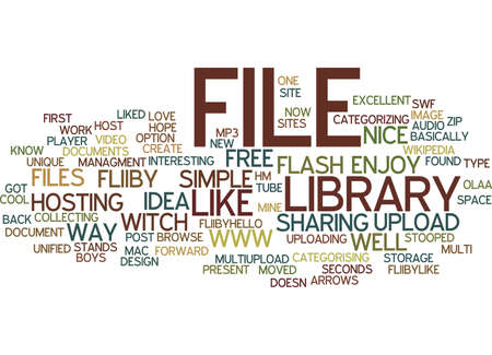 FILE LIBRARY WWWFLIIBYCOM Text Background Word Cloud Concept 向量圖像