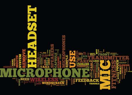 FITNESS INSTRUCTOR Text Background Word Cloud Concept Ilustração