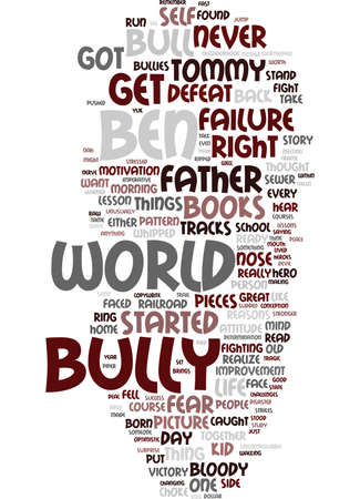 EITHER TAME THE BULL OR YOU LL EAT THE CROW Text Background Word Cloud Concept