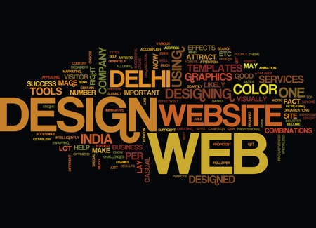 ESTABLISH YOUR WEB WITH DIFFERENT WEB DESIGN Text Background Word Cloud Concept
