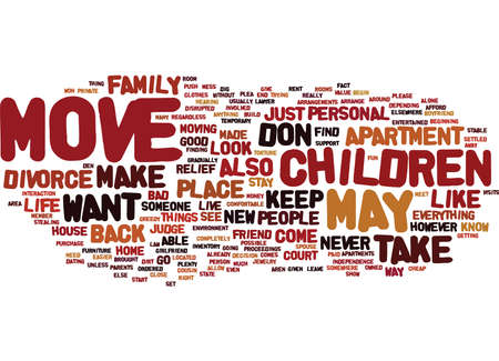 FIND AN APARTMENT Text Background Word Cloud Concept