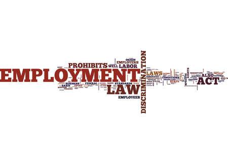 雇用の法律不当解雇建設的な解雇本文背景単語クラウドのコンセプト
